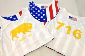 lacrosse pinnies in Buffalo New York