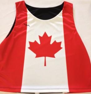 Canada Lacrosse Pinnies