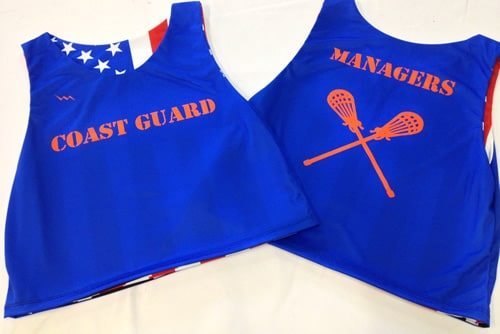 coast guard pinnies