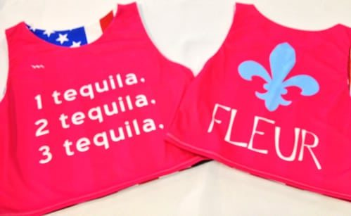 fleur pinnies sublimated