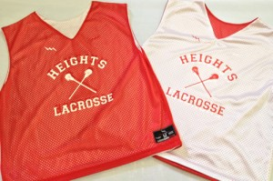 Heights Lacrosse Pinnies