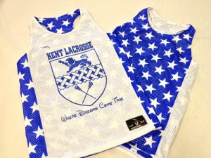 kent lacrosse pinnies
