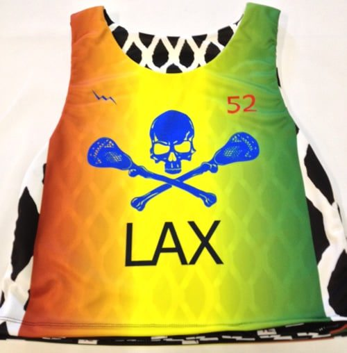 lax mesh pinnies