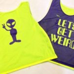 Lets Get Weird Pinnies