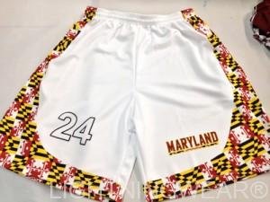 Maryland basketball shorts