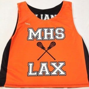 Custom Sublimated Lax Pinnies
