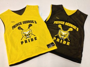 Prince Georges Pride Collegiate Pinnies