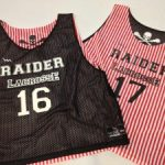 Red Black Lacrosse Pinnies