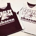 Maroon Basketball Jerseys