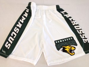 white lacrosse shorts