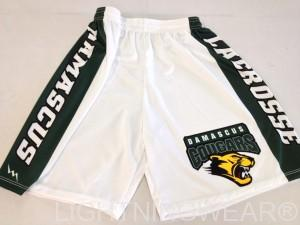 sublimated lacrosse shorts custom