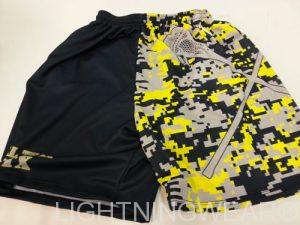 Digital Camouflage Lacrosse Shorts