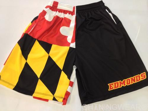 sublimated lax shorts