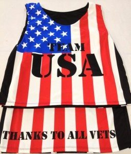 support our troops pinnies