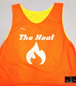 Heat Lacrosse Pinnies