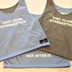 UNC Club Gymnastics Pinnies