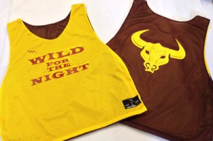 Gold Maroon Pinnies