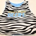 Zebra Lacrosse Pinnies