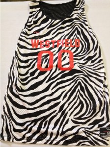 Zebra Girls Lacrosse Pinnies