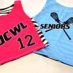 Girls Lax Pinnies – Custom Girls Lacrosse Pinnies with Zebra Print
