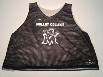 molloy college pinnies
