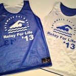 Girls Swimming Pinnies