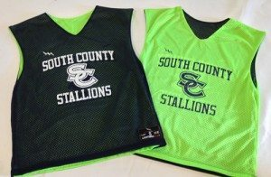 South County Stallions Lacrosse Pinnies