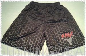 sublimated lax shorts