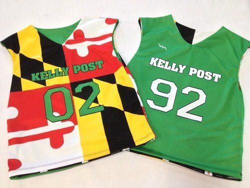 sublimated lacrosse uniforms