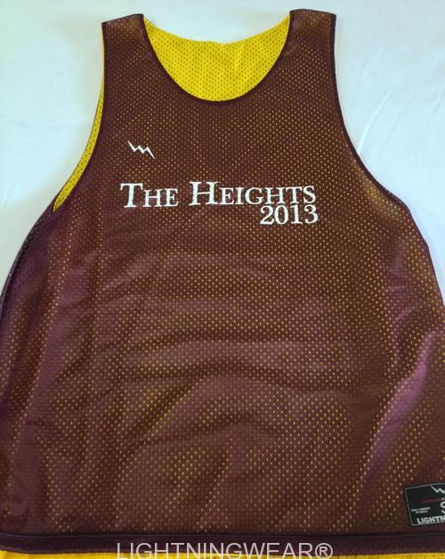 the heights pinnies