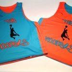 Orange Sublimated Basketball Uniforms