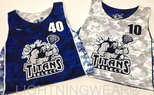 titans select lacrosse jerseys sublimated