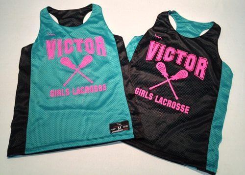 victor lacrosse pinnies