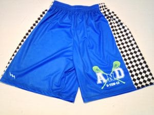 custom bar mitzvah lacrosse shorts