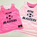 BTSC Blasters Soccer Pinnies