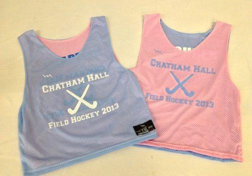 chatham hall field hockey pinnies