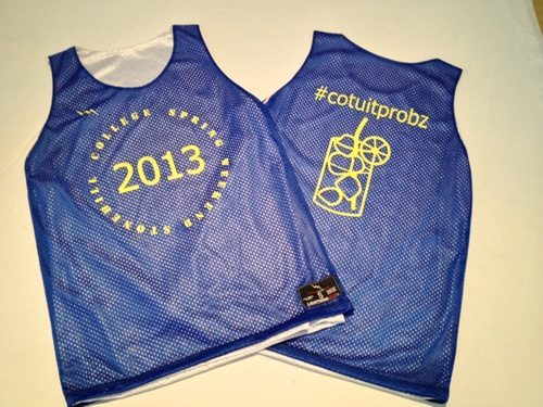 college pinnies