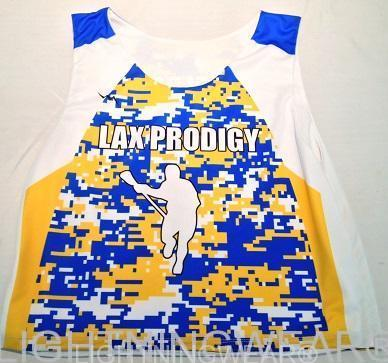 custom lacrosse jerseys sublimated