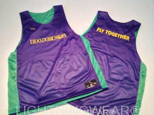 Purple Basketball Reversible Jerseys