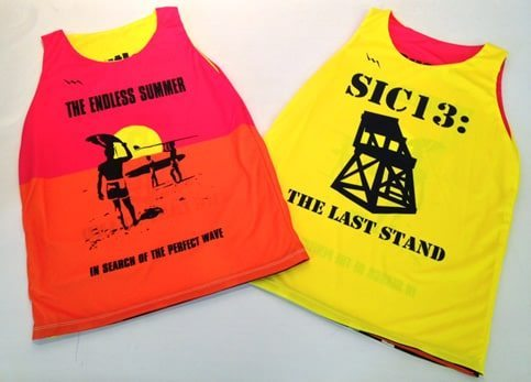 endless summer pinnies - lifeguard tanks