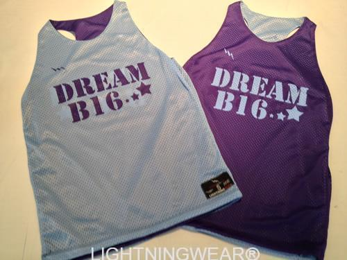 field hockey pinnies - dream b 16 racerback pinnies