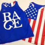 Womens American Flag Pinnies