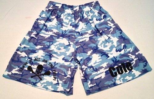 lacrosse shorts custom