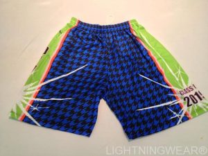 lacrosse shorts hounds tooth custom