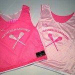 Pink Girls Lacrosse Pinnies
