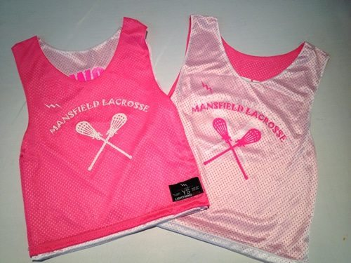 mansfield youth lacrosse pinnies