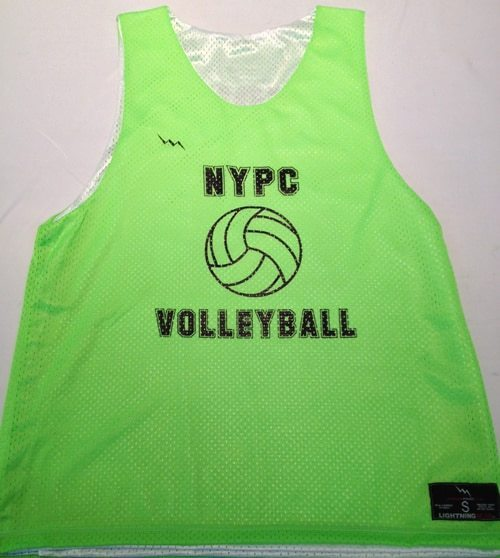 nypc volleyball pinnies