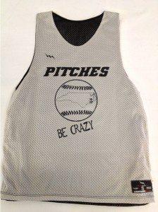 softball pinnies