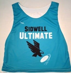 Ultimate Frisbee Pinnies