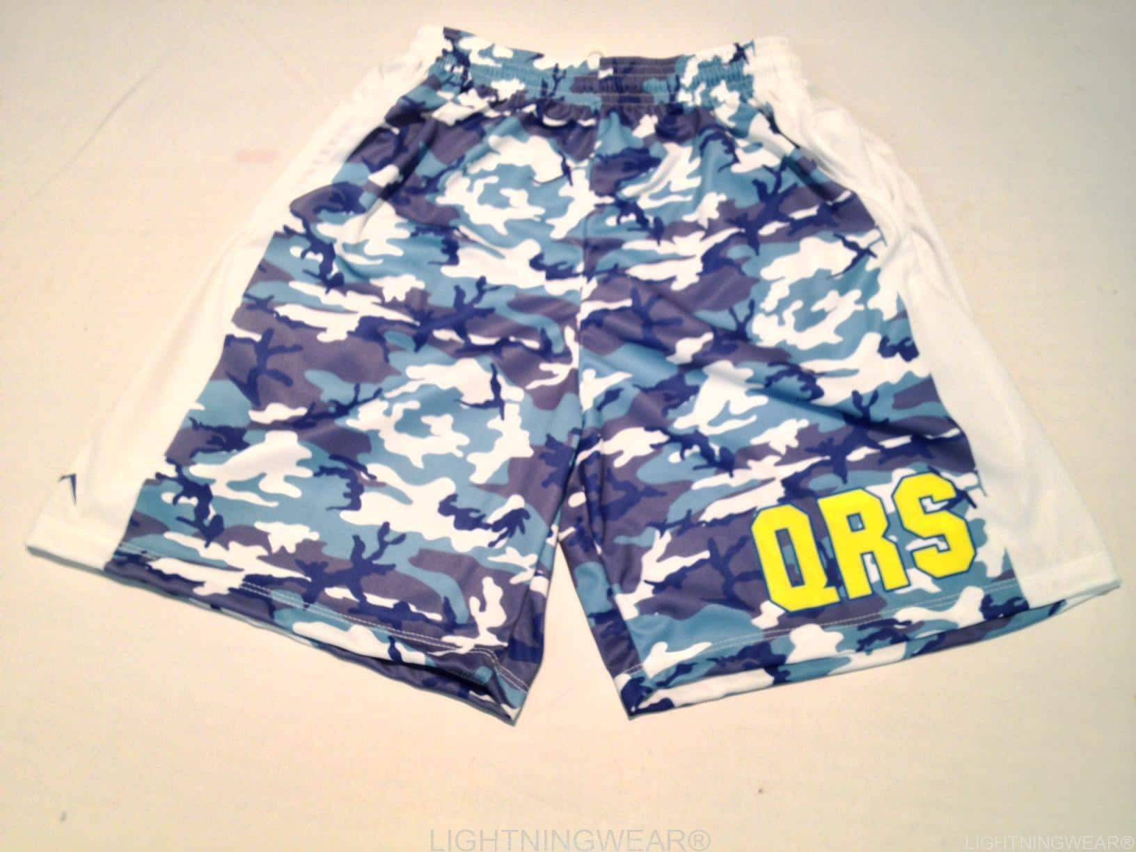 sublimated camo shorts